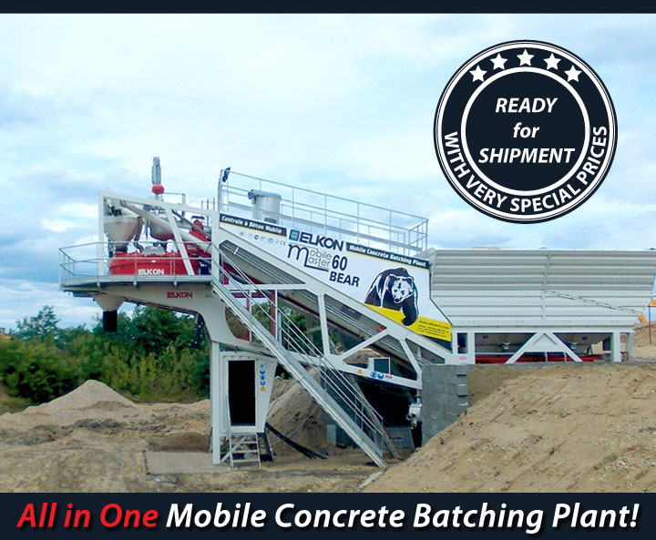 mobile concrete batching